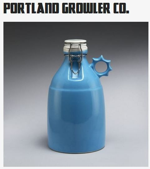 Win a Hand Made Portland Growler Company Growler!