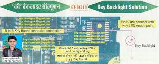 Samsung S3310 Keypad Light Solution By BuntyGSM Mobile Repairing Institute | Mobile Repairing