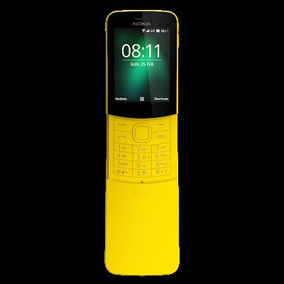 Reloaded Nokia 8110 4G Arrives In Ghana