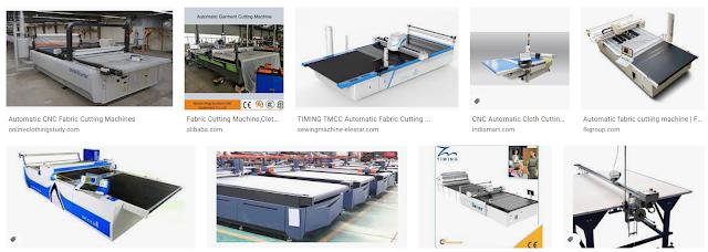 Computerized fabric cutting machines