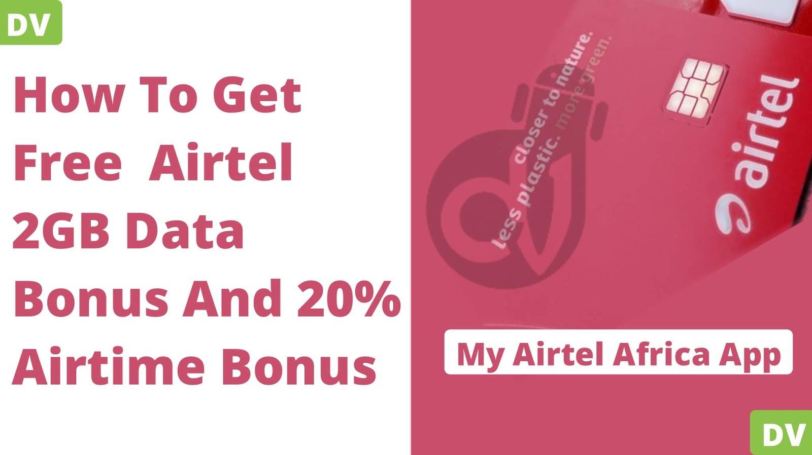 Airtel free 2gb data