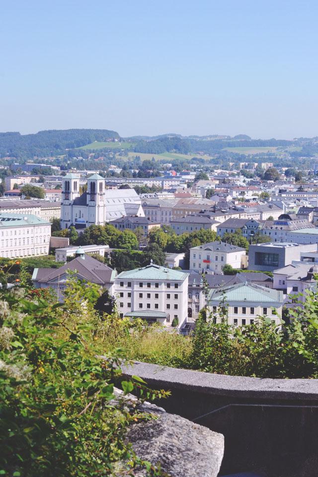 Salzburg from Monchsberg
