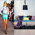 Friday's Runway Decorate-Week 13 Purple and Turquoise