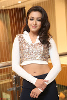Catherine Tresa in a White Glittering Crop Top Black Leggings  Exclusive 029.JPG