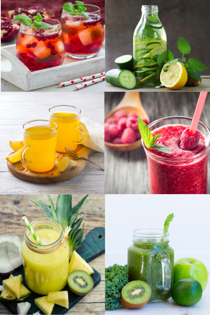 10 healthy drinks that expel toxins from body. These summer drinks are refreshing, flavorful, and the perfect way to cool down on a hot day! With 4 non-alcoholic drinks to choose from, there's sure to be a favorite drink recipe for everyone! #healthy #healthydrinks #drinks