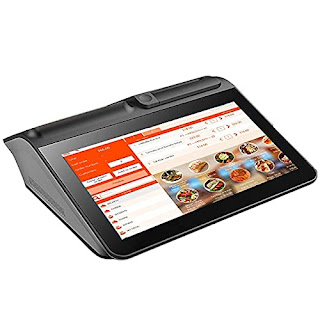 Shreyans 11.6iN. All in One Touch POS Machine with Windows OS, Receipt Printer, Credit Card Scanner, Customer Display POS Guru