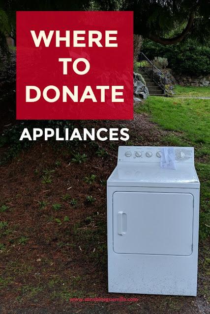 Where to Donate Appliances