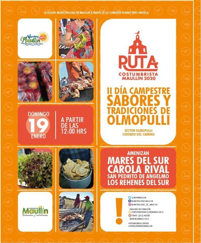 Maullín dio inicio a su tradicional ruta de fiestas costumbristas