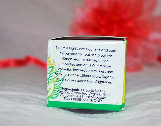 Suganda Neem Green Tea Plant Mask Review