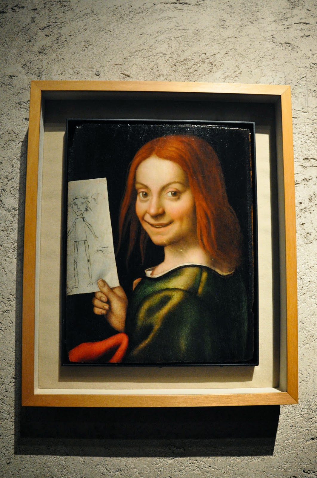 A painting by Giovani Francesco Caroto in the Museum of Castelvecchio in Verona