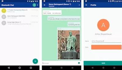 aplikasi chatting gratis tanpa koneksi internet di Android-1
