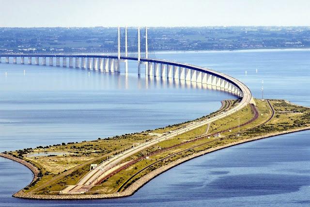 Йоресунд единственият мост, който минава под вода (ВИДЕО+СНИМКИ)
