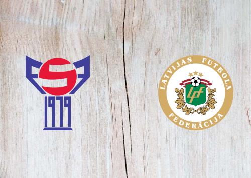 Faroe Islands vs Latvia -Highlights 10 October 2020