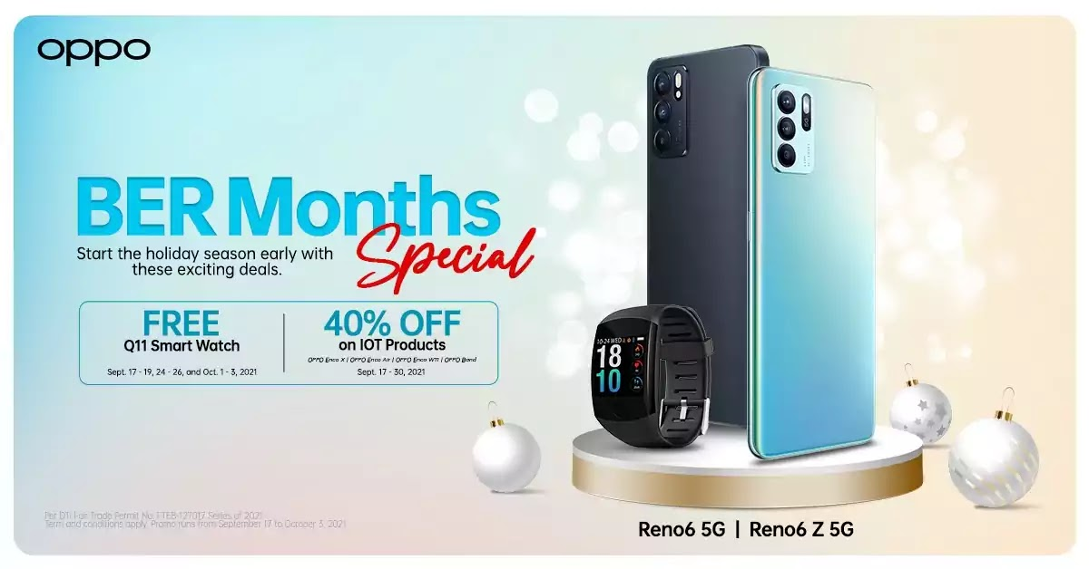 Ber-months made extra special with OPPO