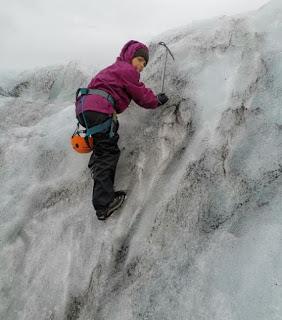 Lengua glaciar Sólheimajökull, parte del Glaciar Mýrdalsjökull.