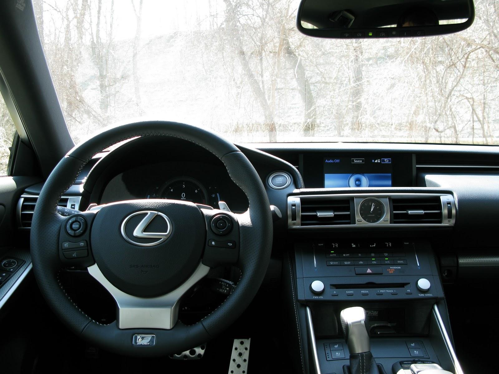 UpShift Review Lexus IS350 F Sport RWD