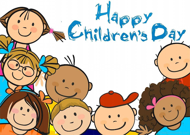 Happy Children's Day ; Happy Bal Diwas