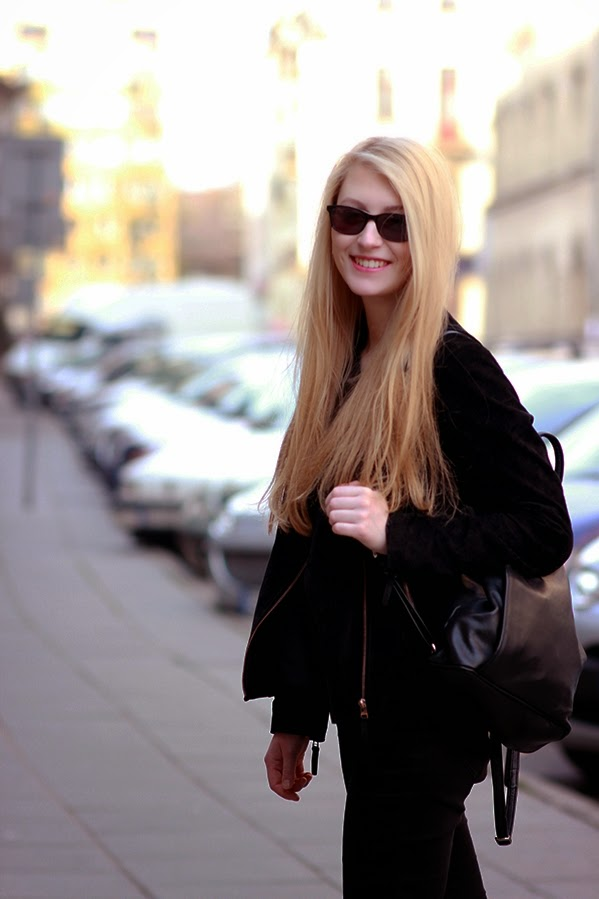 LOOK OF THE DAY: Casual as usual SimplyTheBest Blog written and created by Ewa Sularz