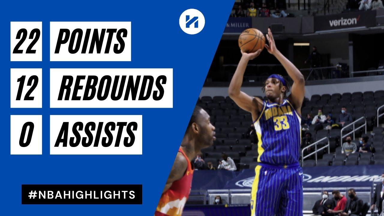 Myles Turner 22pts 12reb 3blk vs DEN | March 4, 2021 | 2020-21 NBA Season