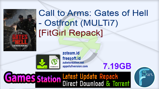 Call to Arms: Gates of Hell – Ostfront (MULTi7) [FitGirl Repack]