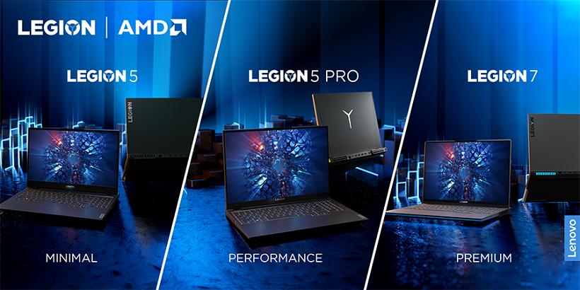 Lenovo Philippines announces Legion 5, Legion 5 Pro, Legion 7