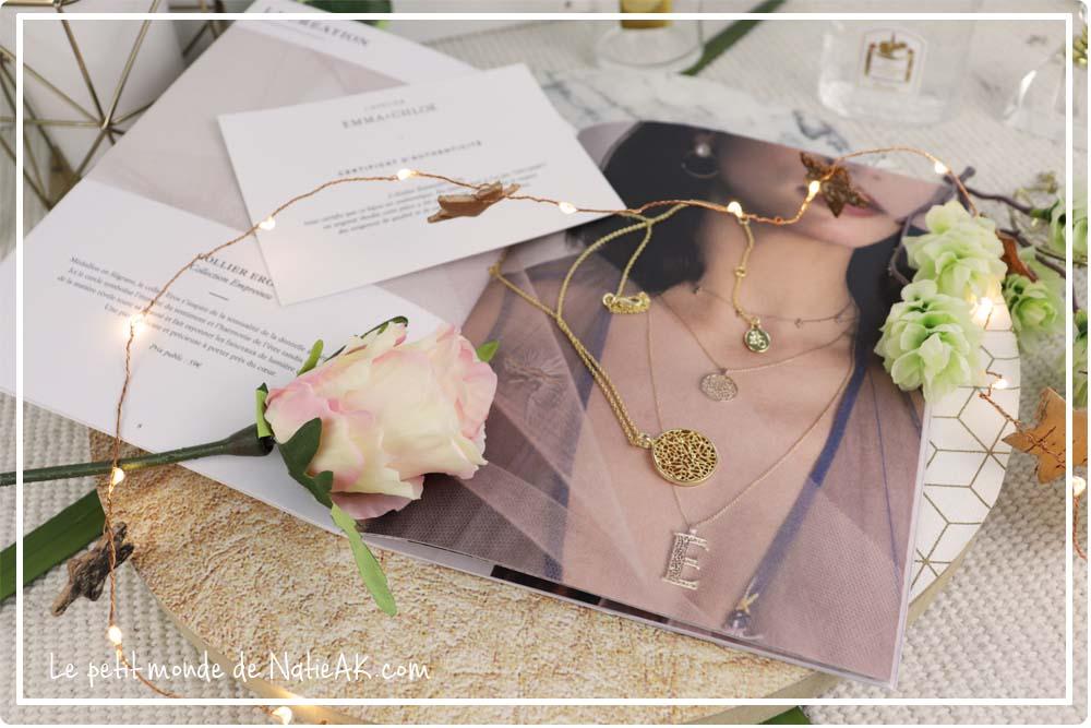 collier Eros  collection Empreinre