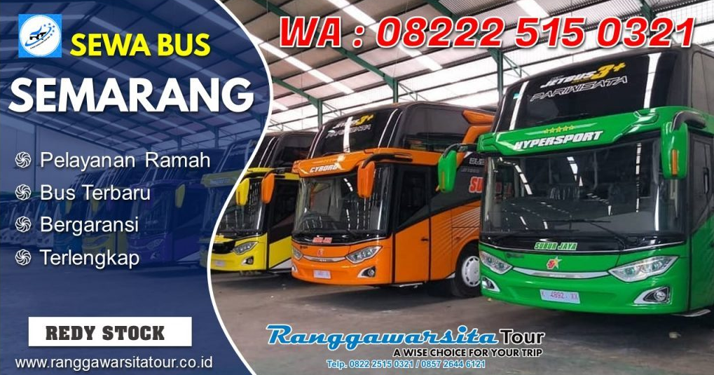 Sewa Bus Pariwisata di Semarang paling Murah dan lengkap ...