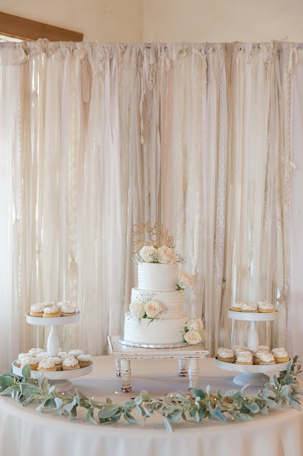 Shenandoah Mill Wedding Cake by Micah Carling Photography