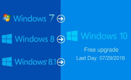 Moondog Web Design News: Today is the last day to get the free Windows 10 upgrade