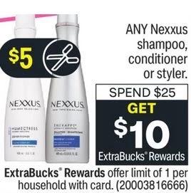 FREE Nexxus Shampoo CVS Deal 9/12-9/18