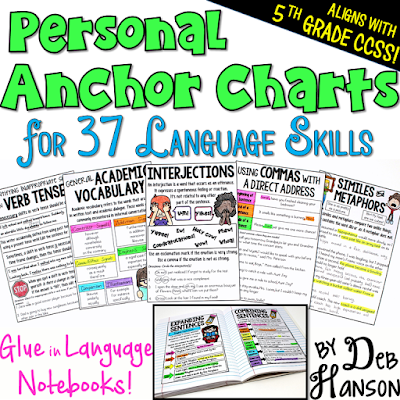 Upper Elementary Snapshots: Anchor Chart Solutions
