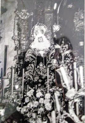 Fotos de la Hermandad de Afligidos de Cádiz de los años 1978 - 1980