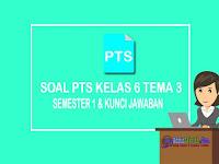 Kisi-kisi dan Soal PTS Kelas 6 Tema 3 Semester 1 Plus Kunci Jawaban