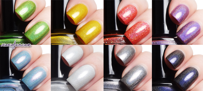 xoxoJen's swatch of Literary Lacquer Wrinkle in Time collection