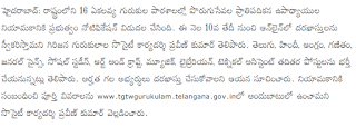 Telangana Ekalavya School Teachers Govt Jobs Recruitment 2020