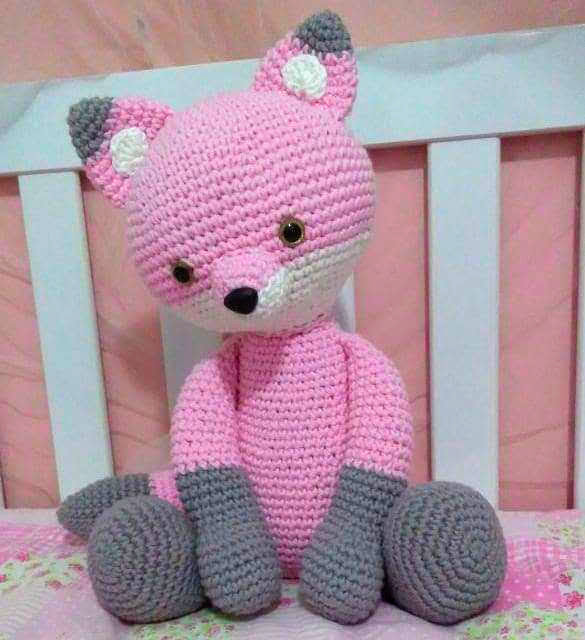 TOP 15 Bichinhos de Crochê Raposa - Receitas Amigurumi Raposa ... | 640x585