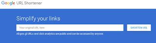 Cara Menyingkat Link Dengan Google URL Shortener