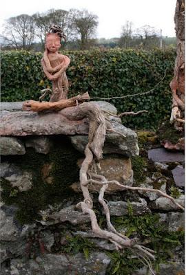 Self Hug sculpture by ME/CFS Artist Corina Duyn