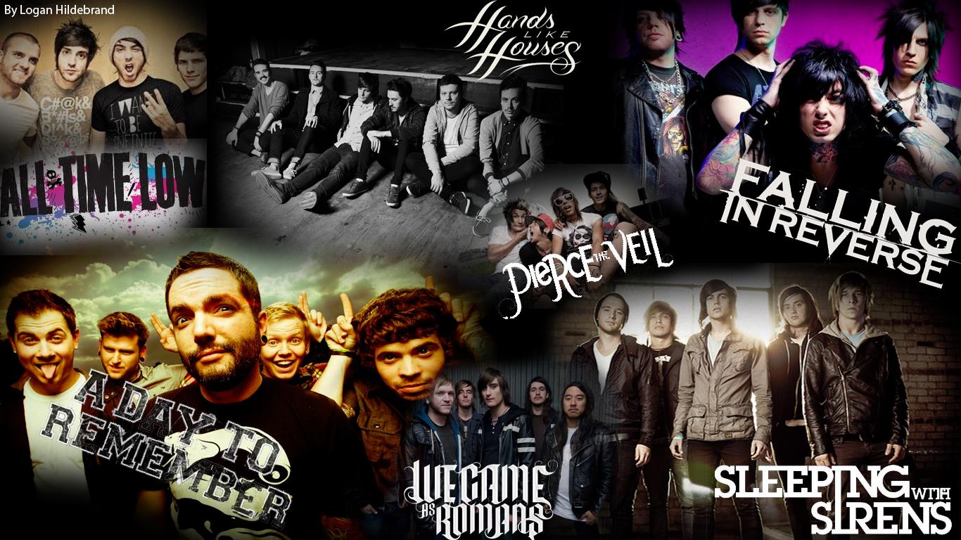 Escape And Go Create Favorite Bands Collage