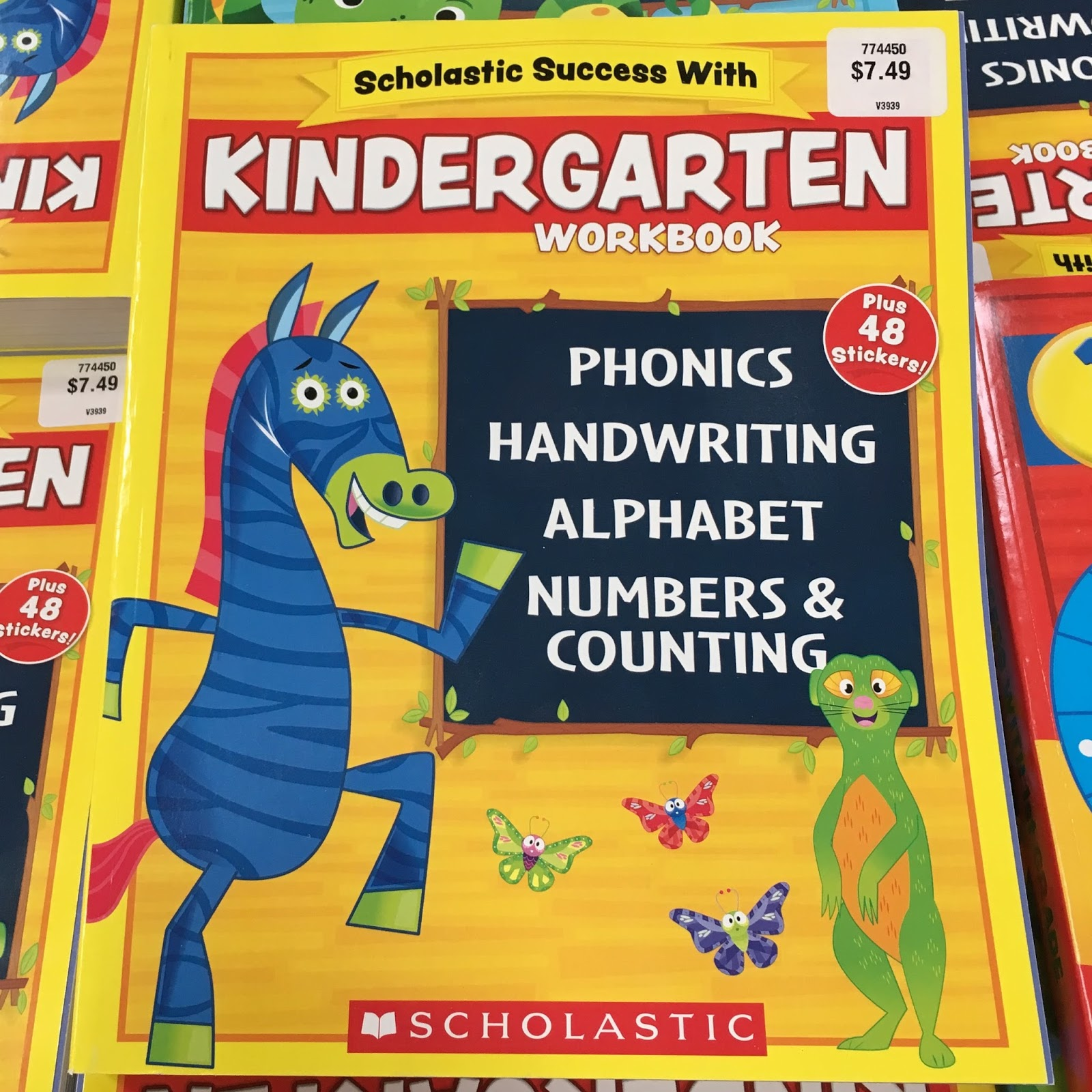 Scholastic Success Workbooks (item #774450), $7.49 each, are tailored to  help kids with phonics, handwriting, grammar and maps in addition to the  usual math ...