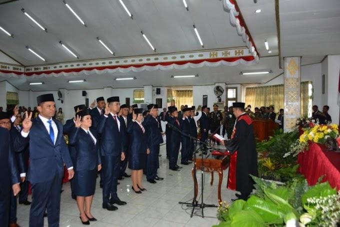 Sebanyak 40 Anggota DPRD Kota Kupang Dilantik, Berikut Nama-Namanya, Asal Dapil Dan Partai
