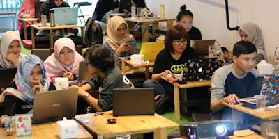 Belajar SEO di Kelas Blogger Medan