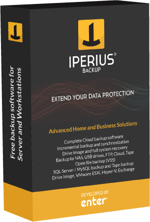 Iperius Backup Full 7.0.0 poster box cover