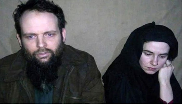 US-Canadian couple still in Pakistan after release from Taliban