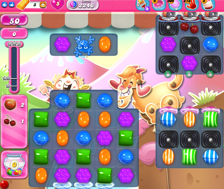Candy Crush Saga level 2246