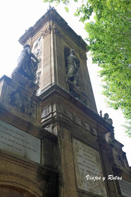 Mausoleo Joseph Sec, Aix en Provence
