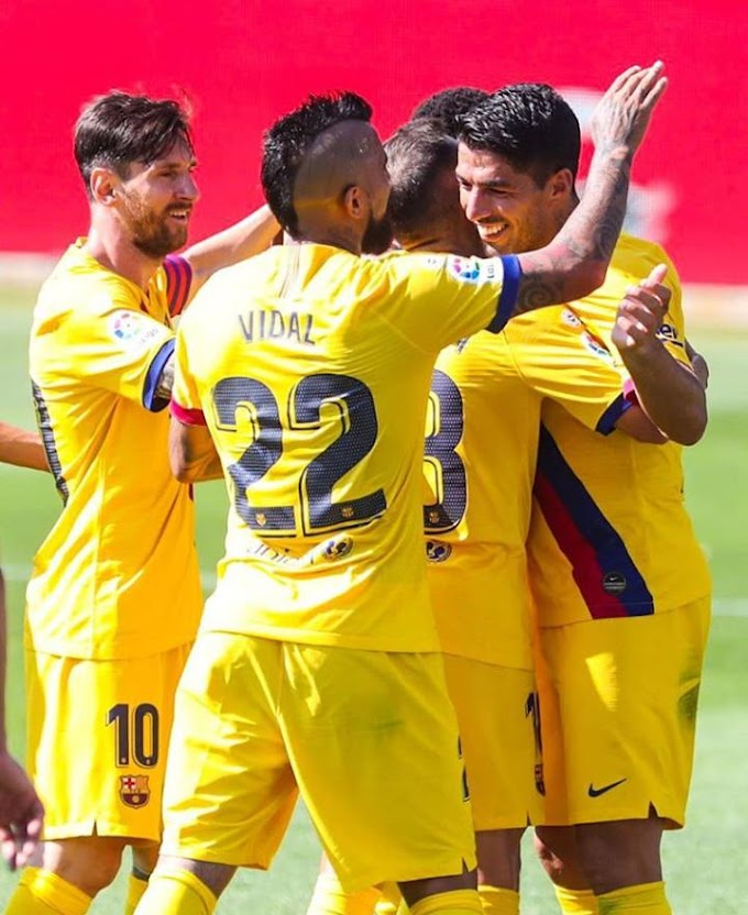 BARCELONA FINISHED 2019-20 LALIGA CAMPAIGN WITH A HUGE VICTORY 5-0