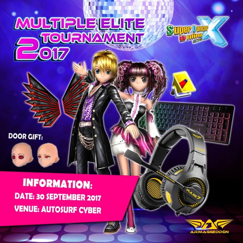 [On-Ground Tournament] Multiple Mode Elite Tournament 2017.