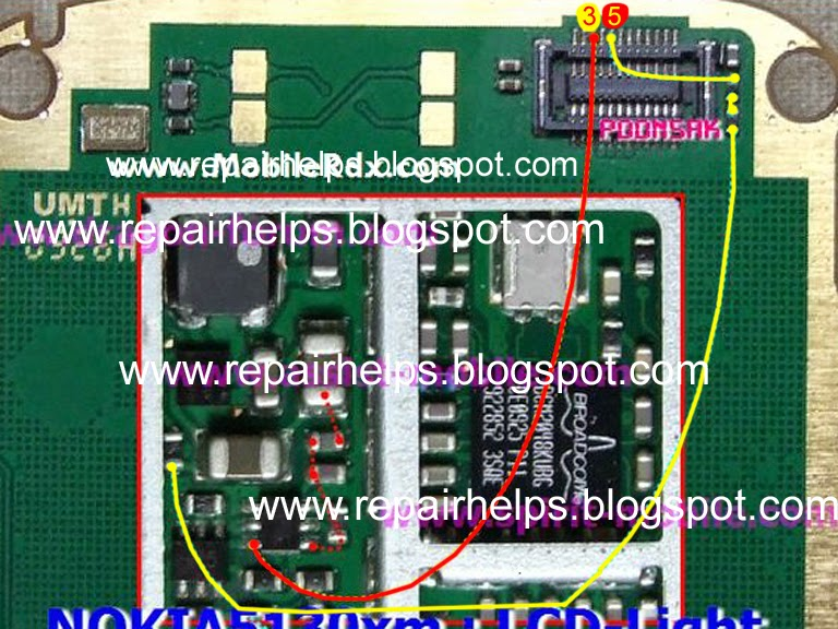 Repair Helps Nokia 5130c Lcd Light Ways Jumper Solution