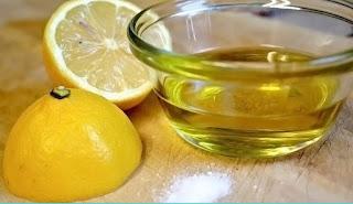 زيت الزيتون والليمون لتطويل الشعر